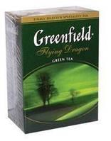 Чай зеленый ГРИНФИЛД рассыпной крупнолистовой Flying Dragon (100r)