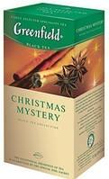 Чай травяной ГРИНФИЛД (пирамидка) черный Christmas Mystery (25x1,5г)