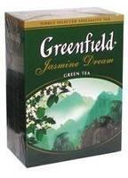 Чай зеленый ГРИНФИЛД рассыпной крупнолистовой Jasmine Dream (100r)