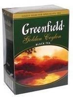 Чай черный ГРИНФИЛД рассыпной крупнолистовой Golden Ceylon (100г)