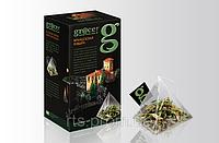 Чай травяной Грейс листовой Французская Ривьера в нейлоновых пирамидках 20 х 1,5 гр. для чайника