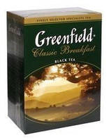 Чай черный ГРИНФИЛД рассыпной крупнолистовой Classic Breakfast (100г)