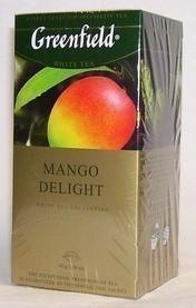 Чай фруктовый ГРИНФИЛД (пирамидка) белый Mango Delight (25х1,8г)
