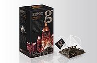 Чай черный Грейс листовой Златоглавая Москва в нейлоновых пирамидках 20 х 2 гр. для чайника
