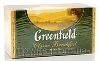 Чай черный ГРИНФИЛД (термопакет) Classic Breakfast (25x2r)