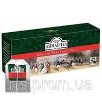 Чай Ахмад пакетированый черный Английский к завтраку (25х2г)
