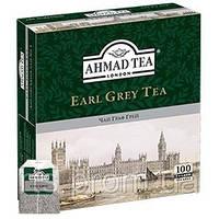 Чай Ахмад пакетированый черный Граф Грей (100х2г)