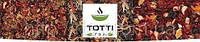 """Чай фруктовый TOTTI """"ЛЕТНИЙ БРИЗ"""" для заваривания в чайнике, пакетирован в нейлоновые пирамидки 25 х 4 гр., фото 1"""