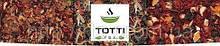 """Чай фруктовый TOTTI """"ЛЕТНИЙ БРИЗ"""" для заваривания в чайнике, пакетирован в нейлоновые пирамидки 25 х 4 гр."""