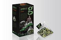 Чай бирюзовый Грейс листовой Оолонг в нейлоновых пирамидках 20 х 2 гр. для чайника
