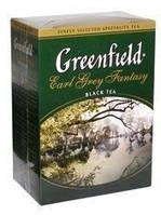 Чай черный ГРИНФИЛД рассыпной крупнолистовой Earl Grey Fantasy (100r)