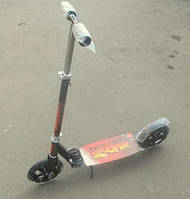 Самокат двухколесный 2 колёсный алюминевый усиленный детям от 4-5 лет