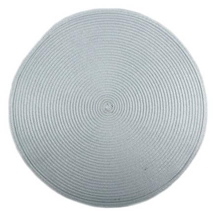 Коврик для горячего Круглый светло-синий, PDL, КВ048-9, фото 2