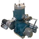 Пусковой двигатель ПД-10 (МТЗ, ЮМЗ, Д-75, Нива) Реставрация ( с кожухом)