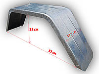 Крыло грязезащитное оцинкованое R13