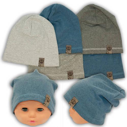 Детские шапки из трикотажа для мальчика, AB17-3