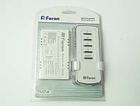 Дистанционный выключатель Feron TM74 4-кан 1000W 30M