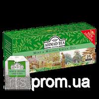 Чай Ахмад пакетированный зеленый с мятой и мелиссой (25х1,8г)