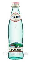 Вода минеральная БОРЖОМИ стеклянная бутылка 0,33 л