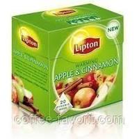 Чай фруктовый Чай Lipton Apple Cinnamon в пирамидках 20*2,2 гр.