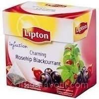 Чай фруктовый Lipton Rosehip Blackcurrant  20*2 гр.