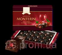 Конфеты «ROSHEN» «Monterini» вишня с вишневым ликером 196 гр.