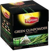 Чай зеленый Lipton Green Gunpowder в пирамидках 20*1,8 гр