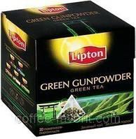 Чай зеленый Lipton Green Gunpowder в пирамидках 20*1,8 гр