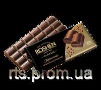 Шоколад «ROSHEN» пористый экстрачерный 85 гр.