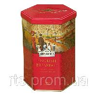 Чай черный Ахмад Английский к завтраку (Edwardian Collection) листовой (ЖБ 200г)