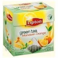 Чай зеленый Lipton Mandar Orange пірам 20*1,8 гр