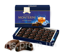 Конфеты «ROSHEN» «Monterini» с ромовым ликером 150 гр.