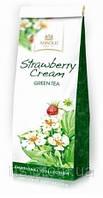 Чай травяной Аскольд Земляника со сливками листовой, упаковка 100 гр.