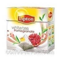 Чай белый Lipton Pomegranate  в пирамидках 20*1,5 гр (30 гр.)