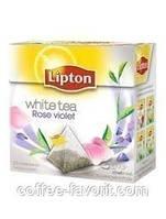 Чай белый Lipton Rose Violet WH в пирамидках 20*1,6 гр (32 гр.)