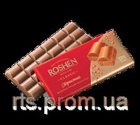 Шоколад «ROSHEN» пористый  темный молочный 85 гр.