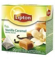Чай травяной Lipton Vanilla Caramel  в пирамидках 20*1,7 гр (34 гр)