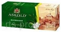 Чай зеленый Аскольд с Жасмином, пакетированный 25 х 2 гр.