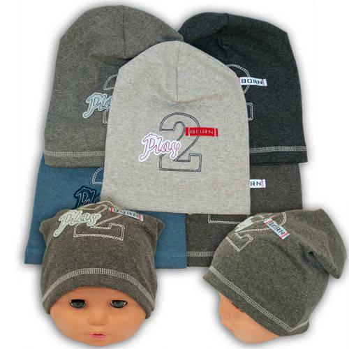 Детские шапки из трикотажа для мальчика, AB18-2
