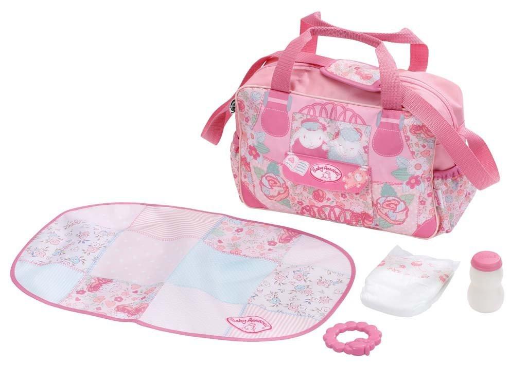 Сумка с набором для пеленания для куклы Baby Annabell Беби Анабель Zapf Creation 794487