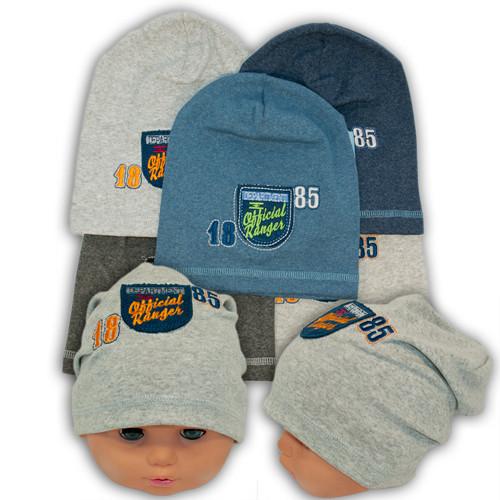 Детские шапки из трикотажа для мальчика, AB19-2