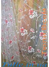 Тюль печать терра сакура