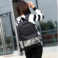 Модный городской рюкзак с принтом