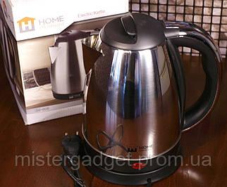 Электрочайник Home EM-805, 1.8 кВт, Чайник электрический дисковый 360°
