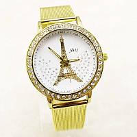 Женские часы Cristal Gold Paris со стразами