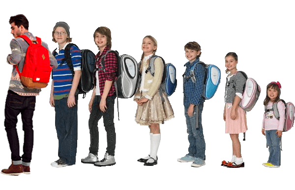 молодежный школьный рюкзак