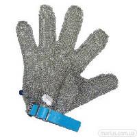 005L Перчатка кольчужная пятипалая с пластиковым ремешком