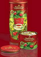 Чай травяной Хейлис Чайный Сомелье  «Малина», «Ваниль», «Клубника»  135 гр.