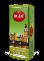 Чай зеленый Хейлис Английский пакетированный 25 х 2 гр.