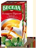 Чай черный БЕСЕДА благородный бергамот, пакетированный 26 х 1,5 гр.